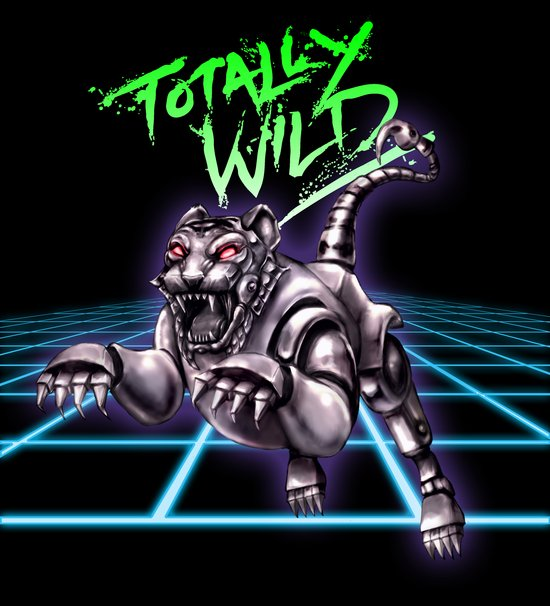 TOTALLY WILD Canvas Print