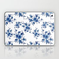 FOLK FLOWERS Laptop & iPad Skin