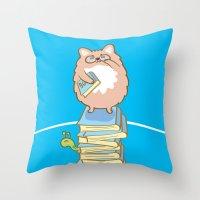 Dr. Ball Throw Pillow