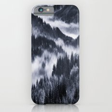 Misty Forest Mountains iPhone 6 Slim Case