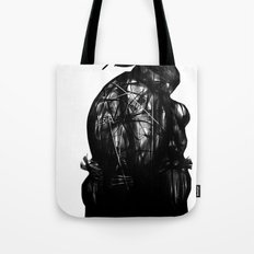leonardo black and white Tote Bag