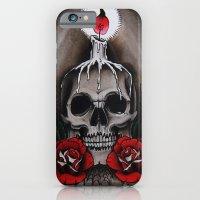 Voodoo Skull And Roses W… iPhone 6 Slim Case