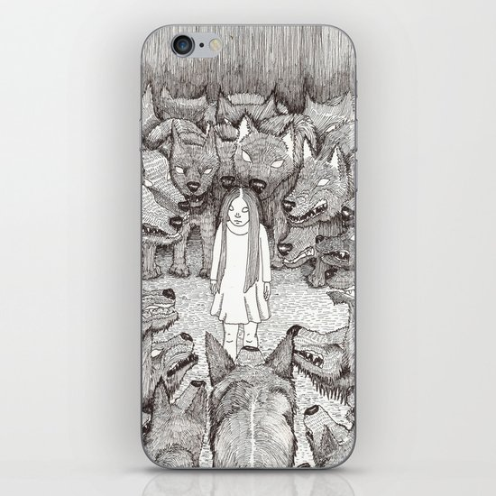 """I will not let her see me like this."" iPhone & iPod Skin"