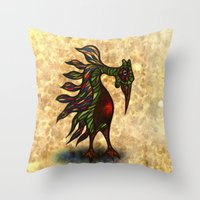 Nopalitus Noticierus Throw Pillow