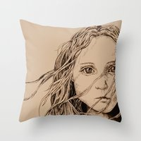 The Colour of Despair  Throw Pillow