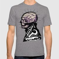 Pinhead Mens Fitted Tee Tri-Grey SMALL