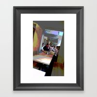 Cafe Life Framed Art Print