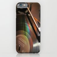 iPhone & iPod Case featuring Vinyl Rainbow by Nevermind the Camera