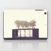 White Flowers iPad Case