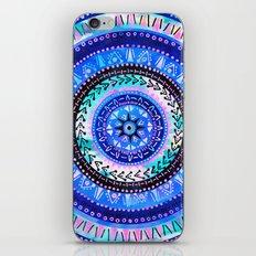 Mandala 2 {blue} iPhone & iPod Skin