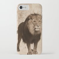 lion iPhone & iPod Cases featuring Lion by haroulita