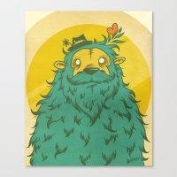 Monster Love! Canvas Print