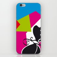 Black Flying iPhone & iPod Skin