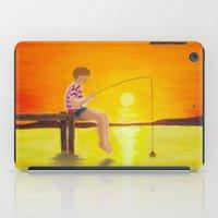 Fishin' iPad Case
