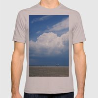 Beach Mens Fitted Tee Cinder SMALL