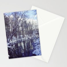 Blue Ice II Stationery Cards
