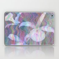 Orchid Ripples Laptop & iPad Skin