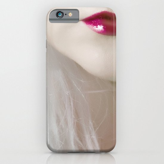 cherry lips iPhone & iPod Case
