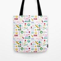 Farmers Market Pattern -… Tote Bag