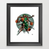 Rondo as Ganesh Framed Art Print