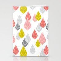 Raining Gems - Enchanted Stationery Cards