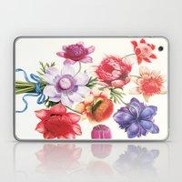 XI. Vintage Flowers Botanical Print by Pierre-Joseph Redouté - Anemones Laptop & iPad Skin