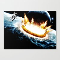 The Sole Survivor  Canvas Print