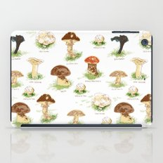 Edible Mushrooms iPad Case