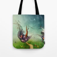 Freedom Fields Tote Bag
