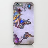 Stars world map. Space. iPhone 6 Slim Case