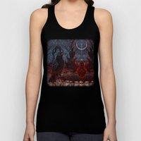 Twilight Garden  Unisex Tank Top