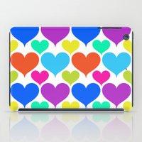 Bright Hearts iPad Case