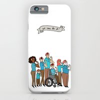 iPhone & iPod Case featuring Intersectional Rosie the Riveter by Tyler Feder