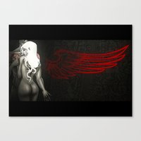 Red Angel Canvas Print