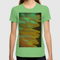 Sunny Dew Womens Fitted Tee Grass SMALL