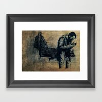 Ashes Framed Art Print