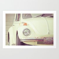 Beetle Bug Art Print