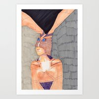 Wrong Decisions  Art Print