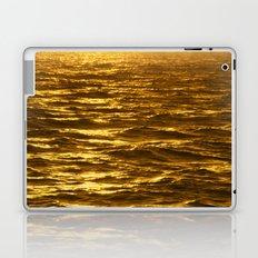 Gold Ocean Laptop & iPad Skin