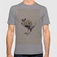 Voicething Mens Fitted Tee Athletic Grey SMALL