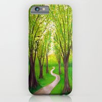 Summer landscape iPhone 6 Slim Case