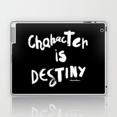 Character Is Destiny - Heraclitus Laptop & iPad Skin
