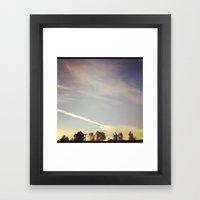 Lovely September Framed Art Print