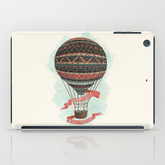have love, will travel iPad Case