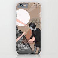iPhone & iPod Case featuring Superheroes SF by Natalie Nicklin