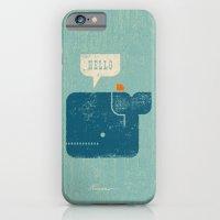 Whale Says Hello to Bird iPhone 6 Slim Case