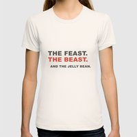 The beast Womens Fitted Tee Natural SMALL