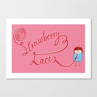 Addicted To Pick 'n' Mix Canvas Print