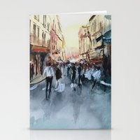 paris Stationery Cards featuring PARIS by Nicolas Jolly