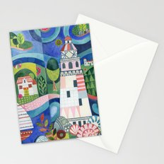 Island Lighthouse Stationery Cards